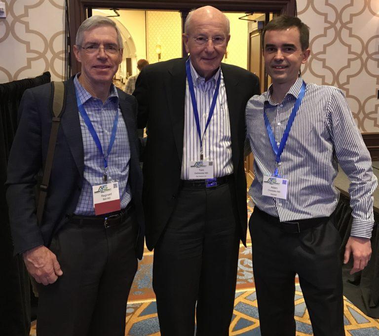 Spotkanie inauguracyjne AFS: dr. Reginald Bell i dr. Tom R. DeMeester (2019)