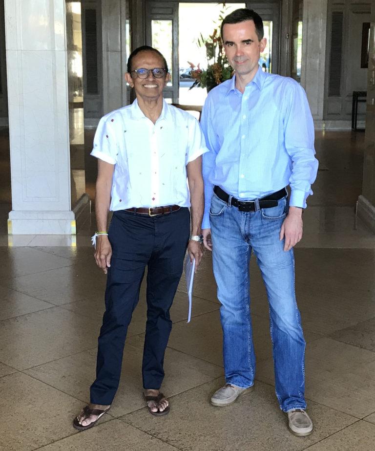 34 edycja kursu szkoleniowego na Hawajach (Foundation for Research and Education in Esophageal and Foregut Disease): dr. Parakrama Chandrasoma (2019)