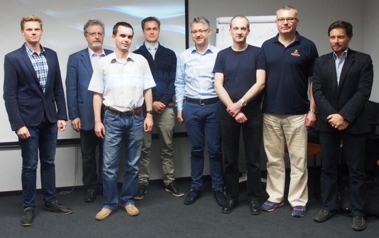 Kurs szkoleniowy Olympus Medical Expert Training: prof. Jarosław Reguła i prof. Michał F. Kamiński (2015)
